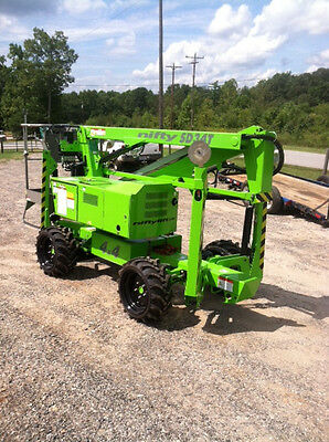 Nifty SD34 Self Propelled Boom  Manlift, 40' Work Height,Diesel&Electric