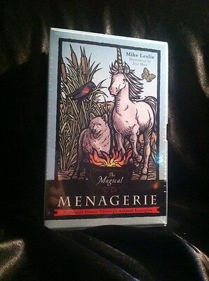 The Magical Menagerie Tarot Cards By Mike Leslie NIB