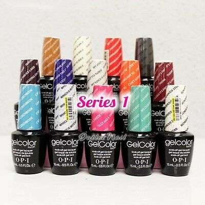 SUPER SALE OPI GelColor Series 1 Gel Polish Color O.P.I Collection 2014 SHIP 24H