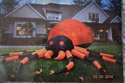 Halloween ~ Spooky Decoration Inflatable Dramatic Spider 10ft Lighted