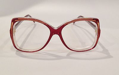 be129de9c2428 NEW VINTAGE BALENCIAGA EYEGLASSES 2719 GP Hand Made In France 54 ...