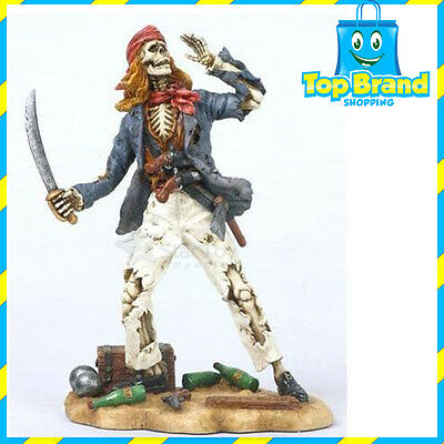 Mary Read Pirate Statue/Figurine Poly Resin 8 inches Tall JACK MAN CAVE
