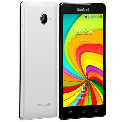 Coolpad 7270+ 5 Pollici Android 4.2 Quad Core 1.3GHz 512 Mb Ram Dual Sim
