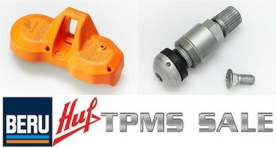 (1) NEW HUF OEM TPMS & Valve (Tire Pressure Sensor) Replaces Huf RDE011 / RDE008