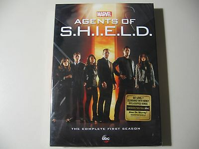 Agents of S.H.I.E.L.D. Shield Complete First Season 1 (DVD, 2014, 5-Disc Set)NEW