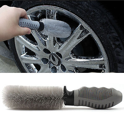 Car Alloy Wheel Spoke Brush Detailing tire rim vehicle motocycle cleaning tyre