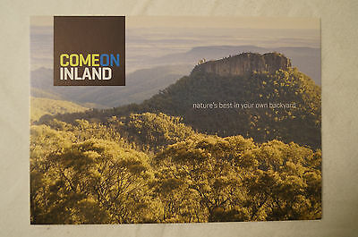 Come on Inland - Mt. Kaputar - Narrabri N.S.W. - Collectable - Postcard.