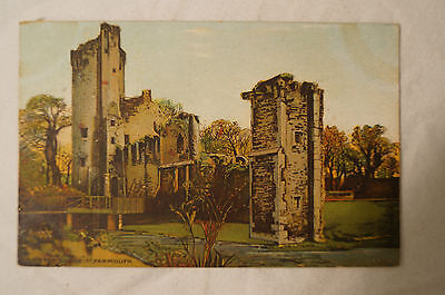 Caister Castle - Yarmouth - England - Vintage - Collectable - Postcard.