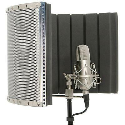 Pro Studio Microphone Reflection Screen Sound Mic Shield *free P&p Special Offer