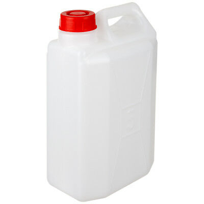 Plastic Water Petrol Diesel Carrier Container Jerry Can Highlander White 5L