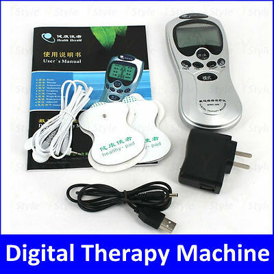 Acupuncture Digital Therapy Machine Body Massager with LCD Screen Free Shipping