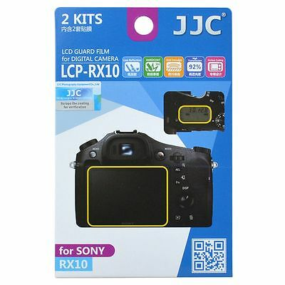 JJC LCP-RX10 LCD Screen Protector Guard Film Cover for Sony RX10 Camera