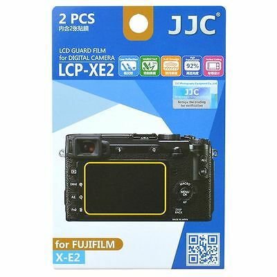 JJC LCP-XE2 LCD Screen Protector Guard Film Cover for Fujifilm X-E2 Camera