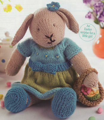 Knitting Patterns For Toy Rabbits : FREE BUNNY RABBIT KNITTING PATTERNS - VERY SIMPLE FREE KNITTING PATTERNS