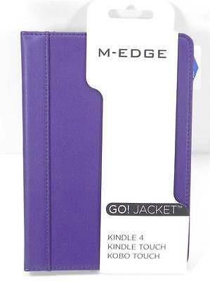 M-EDGE GO! Jacket Case Kindle 4 Kindle Touch KOBO Touch PURPLE Brand NEW Cover