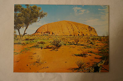 Ayers Rock - Central Australia - Collectable - Postcard.