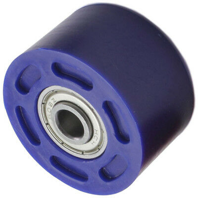 DRC Mx Motocross Dirt Bike Motorbike Replacement Small 32mm Blue Chain Roller