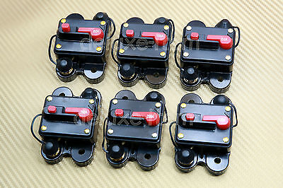 12V-24V Dc Home Solar System Waterproof Circuit Breaker Reset Fuse Inverter