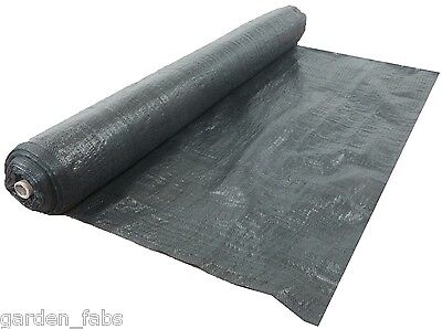 1M x 100M Weed Control Membrane Fabric Ground Cover Garden Heavy Duty Weeds
