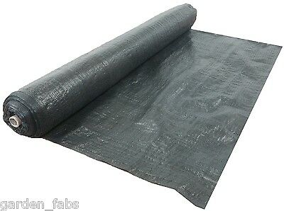 1M x 50M Weed Control Membrane Fabric Ground Cover Garden Heavy Duty Mulch