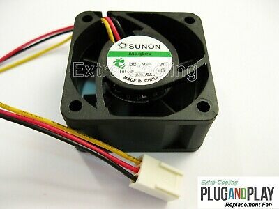1x Quiet Version Replacement fan for Brocade SilkWorm 200E Switch