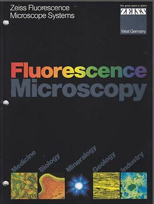 Zeiss Fluorescent Microscopy Systems Brochure on CD L0196