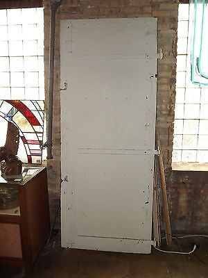 "Large Industrial Plate Steel Door Pair 99.5"" x 80"" #5575"