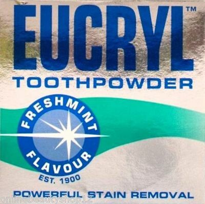 Eucryl Freshmint Stain Removing Toothpowder 50g