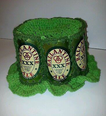 Vintage Ballantine Beer Alum. Knitted Hat - St. Patrick's Day Hat!  VERY RARE!!!