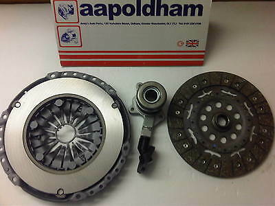 FORD MONDEO MK3 2.0 TDCi 2000-07 6 SPEED RMFD CLUTCH KIT & CSC SLAVE CYLINDER