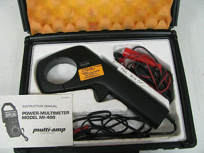 F.W. Bell UM-7700 1000A Clamp On Current Power Probe - MM7