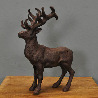 Decorative Cast Iron Stag Ornament *Great Gift*