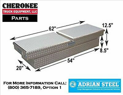 "Adrian Steel AD260, 12"" Double Lid Crossbox"