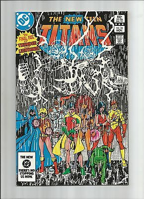 New Teen Titans #36 High Grade (9.2) Dc Perez