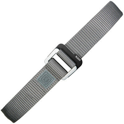 5.11 Tactical Traverse Double Buckle Nylon Belt Police Security Guard Storm Grey