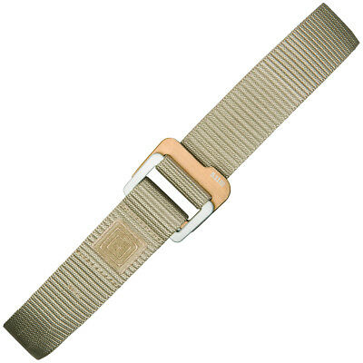 5.11 Tactical Traverse Double Buckle Nylon Belt Security Guard Police Sandstone