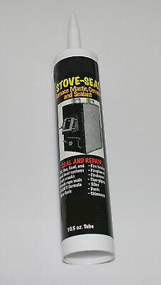 Ceramic Castable Stove Seal 3,000F Caulk Repairs Kilns, Fireboxes, Ovens, etc.