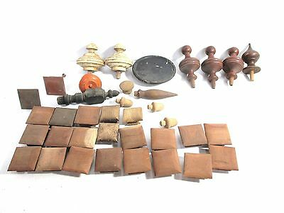 Large Lot of Antique Wood Furniture Parts Accent Pieces Salvage #2