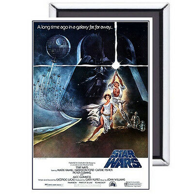 Star Wars FRIDGE MAGNET movie poster 70s