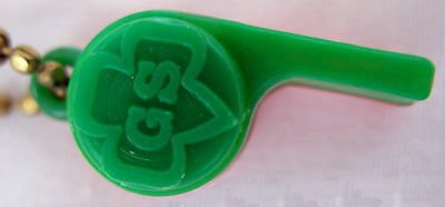 1968 Tiny Whistle Girl Scout Week, Free Give-a-Way GIFT Collectors Multi=1 Ship