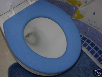 Toilet Seat Warmer Cover - Washable - Blue - 24 available colors- LifeLong Needs