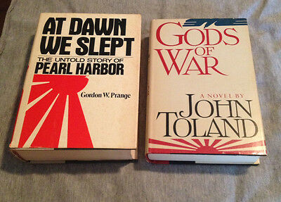 Pearl Harbor, Japan, USA, Art of War, WWII, Vintage, History, Hardcover Book Lot