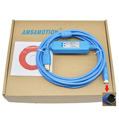 USB-FP1,USB-AFP8550 V2.0 Programming Cable for FP1 PLC,Support WIN7