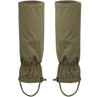 Walking Gaiters Outdoor Hiking Trekking Bushcraft Waterproof Breathable Olive Od