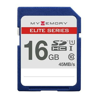 MyMemory Elite 16GB SD SDHC Memory Card  45MB/s Class 10 For digital Camera