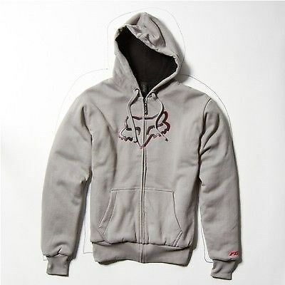 Fox Racing Masked Sherpa Zip Lined Thick  Hoody Hoodie Mx Mtb Supercross