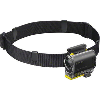 Sony Action Camera NEW Genuine Accessories Cam Universal Head Strap Mount Kit