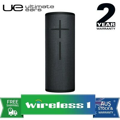 Logitech UE MegaBoom Wireless Bluetooth Speakers Black