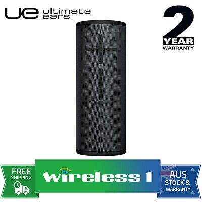 UE Ultimate Ears MEGABOOM 3 Wireless Bluetooth Speakers Night Black