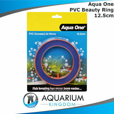 #10150 Aqua One PVC Encased Air Stone Round 12.5cm - Aquarium Fish Tank Airstone